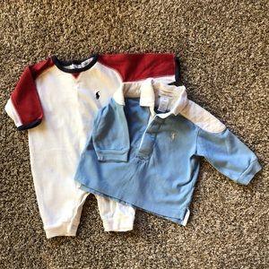 Polo Ralph Lauren baby boy clothes. 3-6mo